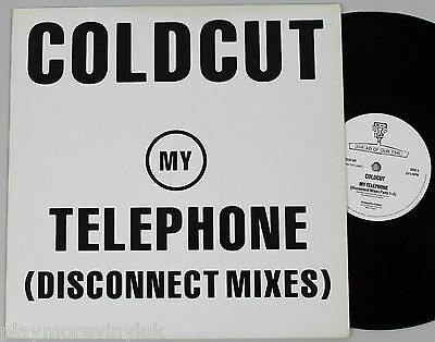 "COLDCUT My Telephone (Disconnect mix) 12"" UK 1989 Ahead Of Our Time CCUT6R"