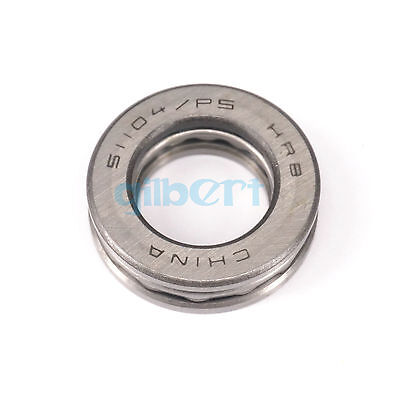51104 ABEC-5/P5 20x35x10mm Axial Ball Thrust Bearing Set(2 Steel Races + 1 Cage)
