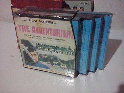 film super 8 mm  --... con alain delon