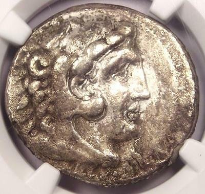 Alexander the Great III AR Tetradrachm 336-323 BC - Certified NGC Choice Fine!