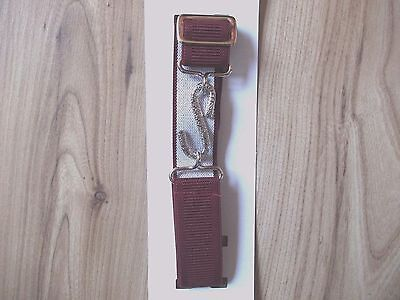 Kids Girls Boys Burgundy,Wine,Maroon Elasticated Snake Child Belt Jeans,Trousers