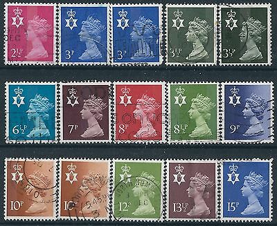 p323) Great Britain - N. Ireland. 1971/93. Used. Small Collection. Royalty