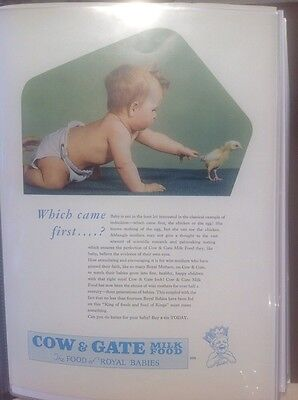 Cow and Gate baby milk advert, 1950s