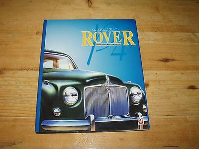 Rover P4 - One of Britain's Fine Cars by Malcolm Bobbitt.