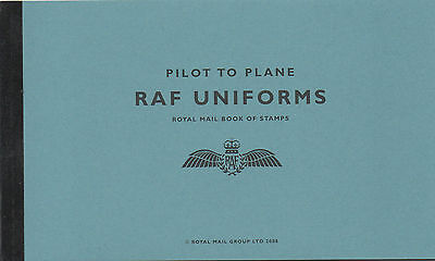 RAF Uniforms. SG DX42 Prestige Booklet. MNH
