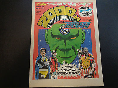 2000AD prog 127 comic in nice condition (25 August 1979)