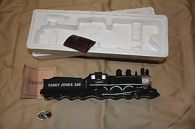 Ezra Brooks Casey Jones decanter train, complete