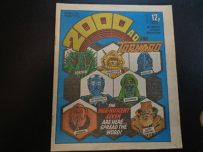 2000AD prog 130 comic in good condition (15 September 1979)