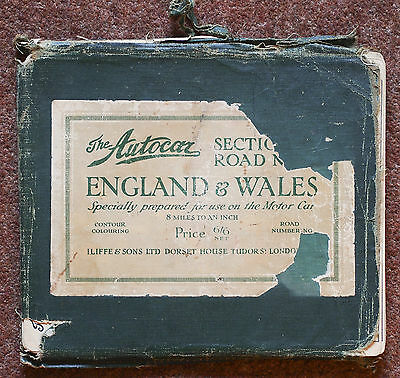 Autocar Sectional Road Maps - England and Wales