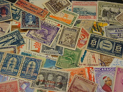 Wonderful Very Large Collection Of Stamps From Various Latin-American Contries..