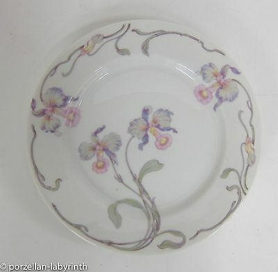 5 Cake Plate Rosenthal antique Brand AIDA Orchids Decor Blumenmuster plate 20 cm