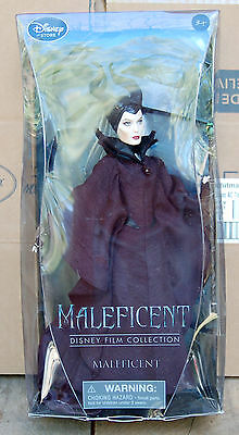 Disney Store Exclusive Film Collection Maleficent Angelina Jolie Doll NIB