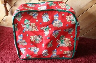 Christmas appliance cover, handmade, crafts