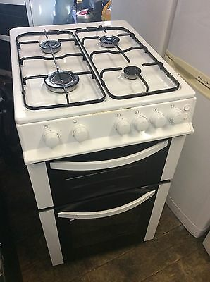 LOGIK 50cm Gas Double Oven Cooker