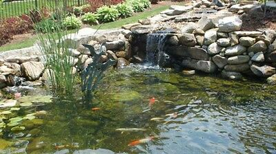 Oasis 6500 Large Pond Filter With Media Outdoor Garden Rockery Koi Fish Offers