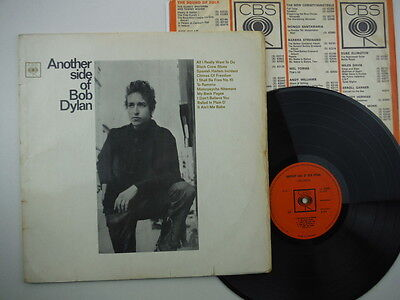 Bob Dylan,Another Side Of Bob Dylan,First pressing with rough textured label,LP