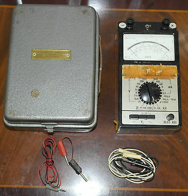 Goldsmiths College London Cased Combination Instrument U4313 Electric Tester