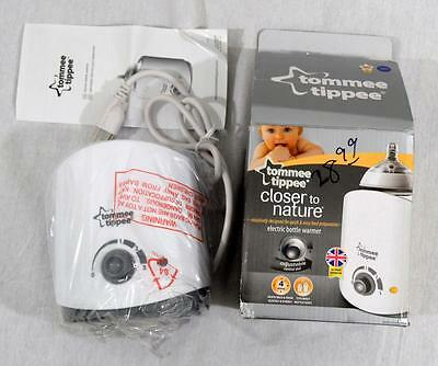 New Tommee Tippee Closer To Nature Electric Bottle Food  Milk Warmer