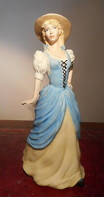 Wedgwood Costume Collection Figurine 'england' In Matt Porcelain, Perfect