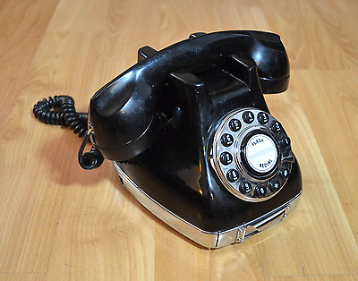 Metro Phone Rotary Style Push Button Telephone Phone flash redial vintage