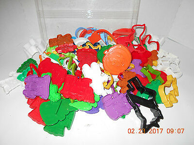 HUGE Lot Cookie Cutters Wilton, Acme, Hutzler, Holiday, Shapes ETC