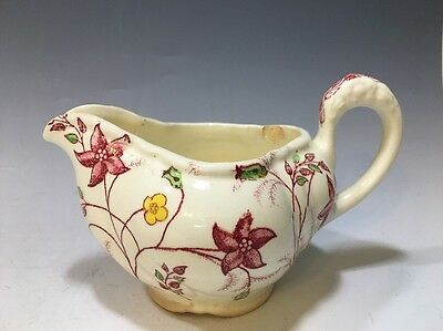 "Chelsea Chintz Taylor Smith And Taylor Co. Creamer - 3""H x 5 1/2"" Spout /handle"