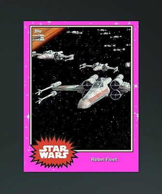 Topps Star Wars Card Trader - Opposing Forces Falcon vs Slave 1 (Digital Card)
