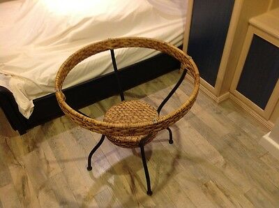 Large Round Wicker Garden Patio Table Without top