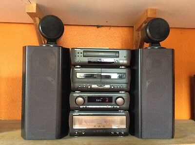 Technics SC-CA1060 stereo separates Hi-Fi system complete with 4 speakers-mint