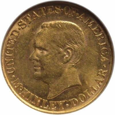 MCKINLEY 1916 G$1 Gold Commemorative NGC AU58 CAC