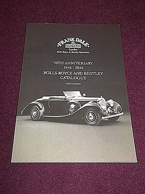 Frank Dale & Stepsons London Rolls-Royce And Bentley 2016 Catalogue  Luxury Cars