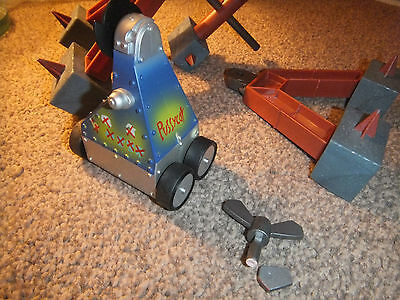 """Pussycat : Large Rare 4"""" Pull N Go Robot Wars Pussycat - V.g.condition"""