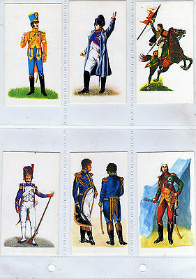 Doncella - Napoleonic Uniforms 1979 - Full Set in Sleeves (NB)