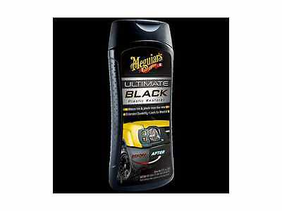 New Meguiar's Ultimate Black Rénovation Plastique G15812 Meguiars