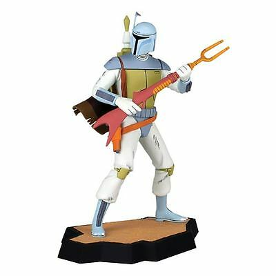 STAR WARS Holiday Special Gentle Giant- BOBA FETT Animated MAQUETTE #593 -MIB