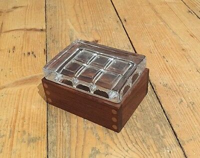 Vintage cigarette box Scandinavian G-plan