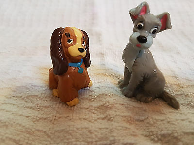 Disney Lady and the Tramp 1982 BULLYLAND HANDPAINTED