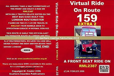 Vol.33 Route 159 Marble Arch to Streatham Garage Virtual Ride Bus Transport DVD