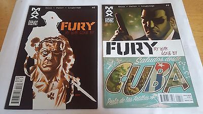 Garth Ennis: Fury - My War Gone (MAX, complete first arc, 6 issues)