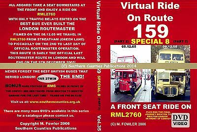 Vol.35 Route 159 Streatham to Piccadilly Virtual Ride Bus Transport DVD
