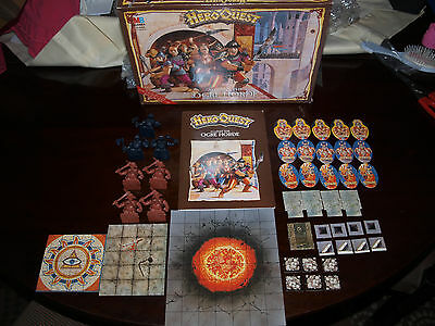 Hero Quest Against The Ogre Horde Complete 100% Boxed