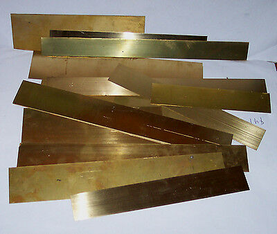 Gauge O – 7mm – Etched Brass Straight Wider Lengths - 14 - ex kits - see note Hb