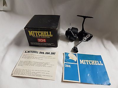 Reel Mitchell 204 Made in FRANCE REEL MOULINET ROLLE MULINELLO OLD VINTAGE RARE