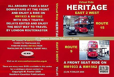 Vol.41 Heritage Routes 9 & 15 Tower to Royal Albert Hall Virtual Ride Bus DVD