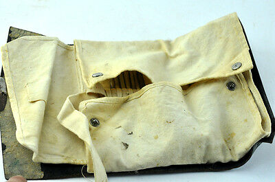 Antique Dentist Full Set Medical Instruments Tooth Teeth Bag Leather Pouch