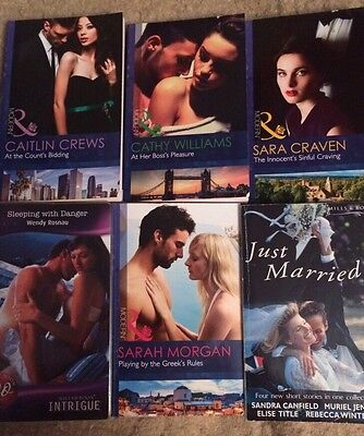 Mills And Boon Books X 6