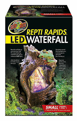 Zoo Med Repti Rapids LED Wood Waterfall (Small)