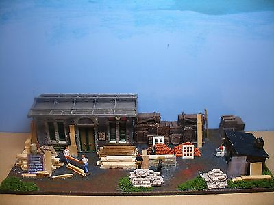 00: BUILDERS YARD (CHARD & SONS) - by 'Trackside-Scenes'