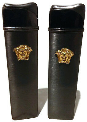 Lot of 2 Cigarette Metall Vintage Lighters Used Working Without Gas Collection