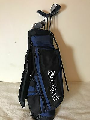 Golf Wilson Set With Ping Bag Left Handed